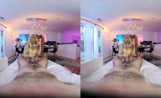 Penny Pax in Poke A Ho Misty for Holo Girls VR