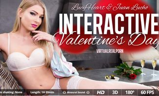 Lucy Heart Interactive Valentines Day for Virtual Real Porn