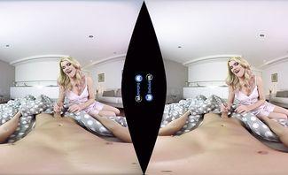 Izzy Delphine Bed N Bang for BaDoinkVR