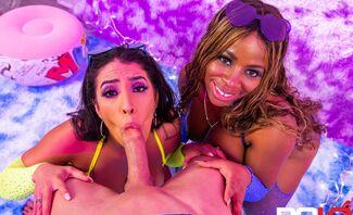 WAP XXX Featuring Amirah Styles, Kaiya Rose