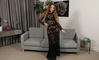 Monika Lara Smith Lingerie Striptease Trimmed Pussy