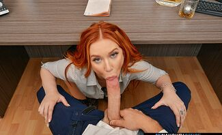 Naughty Office Featuring Madison Morgan