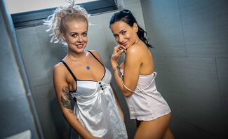 Wet and Wild Lesbians In Hotel Part 3 Featuring Eva Wild And Sugar Ariana