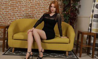Scarlett Jones – Redhead Beauty in Sexy Lingerie