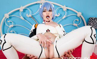 Rei Ayanami A XXX Parody Featuring Jewelz Blu