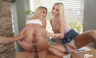 Double B is a Passing Grade Featuring Marilyn Sugar And Lilly Bella