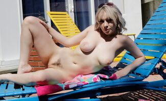 I WANT DICK – Big Tits Ava Sinclaire Humiliates Poolboy With Small Cock
