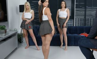 Daddy's Models Featuring Ariana Van X, Lika Star, And Kylie Green