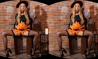 Naughty Minx Has Special Sex Treat for Halloween Featuring Alexis Crystal