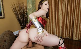 Wonder Woman A XXX Parody - Chanel Preston