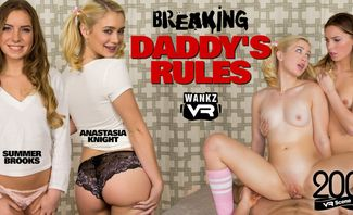 Breaking Daddy's Rules - Anastasia Knight and Summer Brooks