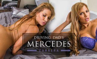 Driving Dad's Mercedes - Mercedes Carrera