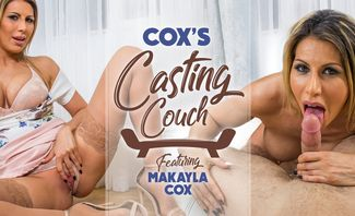 Cox's Casting Couch - Makayla Cox