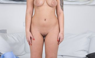 Great Boobs in Casting - Jennifer Mendez