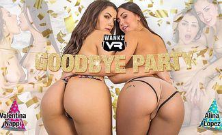 Goodbye Party - Valentina Nappi and Alina Lopez