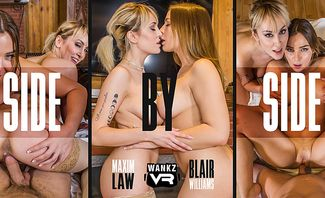 Side by Side - Blair Williams and Maxim Law