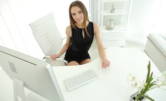 Office Playtime - Veronica Clark