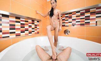 Throwback Bathroom - POV - Ana Rose