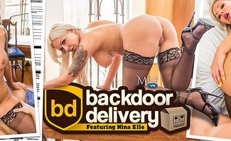 Backdoor Delivery - Nina Elle
