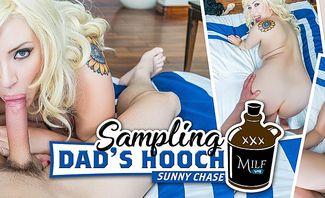 Sampling Dad's Hooch - Kelly Paige