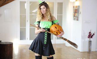 Sister Meets My Halloween Monster - Candice Demellza