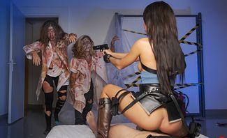 Resident Evil A XXX Parody - Anna Thorne