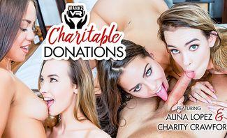 Charitable Donations - Alina Lopez, Charity Crawford