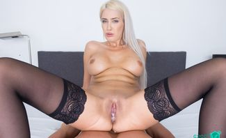 Gigolo For Busty Blonde - Blanche Summer