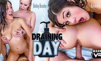 Draining Day - Bailey Brooke, Kendra Spade
