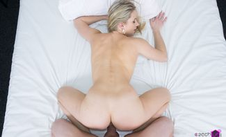 Blonde On Casting - Stacy Saint