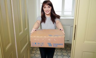 Naughty Delivery Girl featuring Dominica Phoenix