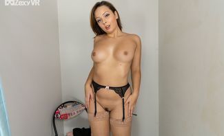 What To Wear - Busty Amateur Solo with Alice Katz