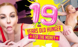 19 Years Old Hunger For The Money - Rebeka Black