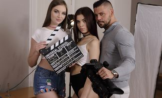 Action! Stepfamily Porn Production