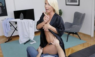 From House Work To Stepson's Cock