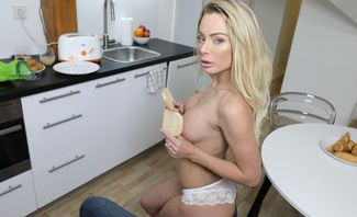 Isabelle Deltore Is Asking You For Cream on Mother's Muffin