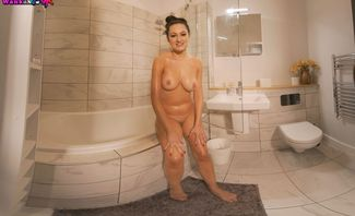 Bonnie Is All Soaped Up, Will You Wank For Her?