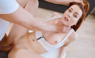 Excited Cutie Charlie Red Demands Her Orgasm NOW