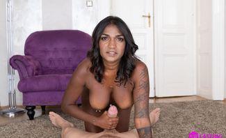 Titty Fucking Busty Babe Saritha Olivieri