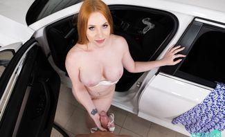 Kiara Lord Cleaning The Car Honey