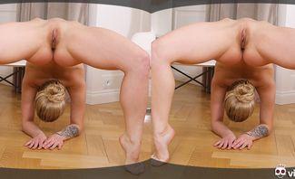 Naked Contortion Teen Gymnast Alexa Flexi