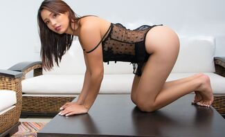 Lust In The Living Room Starring Lia Ponca