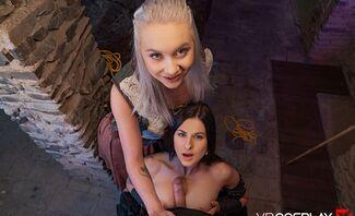 Xena Warrior Princess Starring Billie Star And Marilyn Sugar A XXX Parody