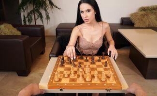 Play Chess With Busty Babe Alyssa Bounty