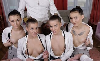 Yes, This Is Real-Eveline Dellai,Lady Zee, Sandra Zee & Silvia Dellai