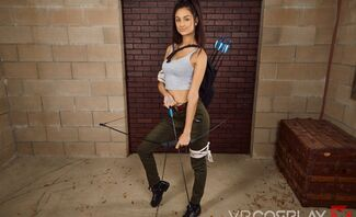 Tomb Raider A XXX Parody Starring Eliza Ibarra