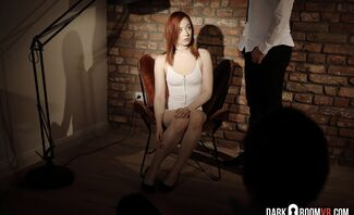 Her First Casting Call with Sheryl X