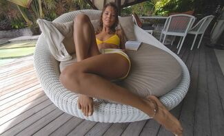 Bikini Bookworm Featuring Katya Clover
