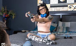 Gamer Girl Featuring Brenna Sparks
