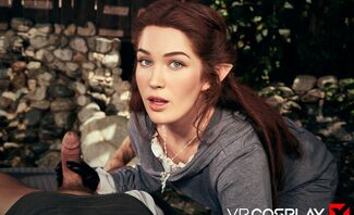 LOTR Arwen A XXX Parody Featuring Evelyn Claire